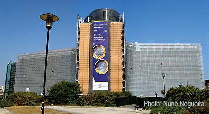 ECB main building Brussells